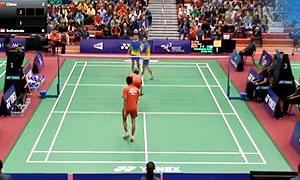 何济庭/郑思维VS安迪卡/瑞诺威 2015世界青年羽毛球锦标赛 男双决赛视频