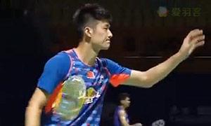 谌龙VS阿萨尔森 2015中国公开赛 男单1/4决赛视频