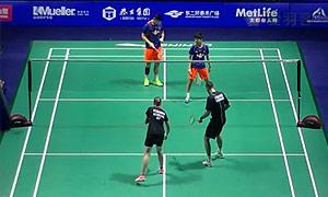 尼尔森/佩蒂森VS刘雨辰/区冬妮 2015中国公开赛 混双1/4决赛明仕亚洲官网