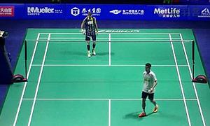 李宗伟VS约根森 2015中国公开赛 男单1/4决赛视频