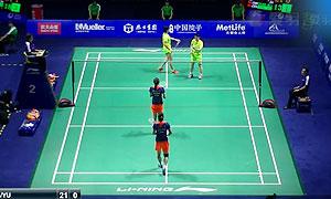 唐渊渟/于洋VS田卿/赵芸蕾 2015中国公开赛 女双半决赛视频
