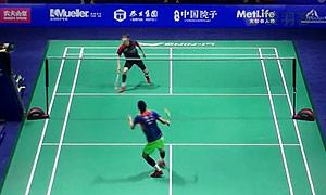 谌龙VS孙完虎 2015中国公开赛 男单半决赛视频