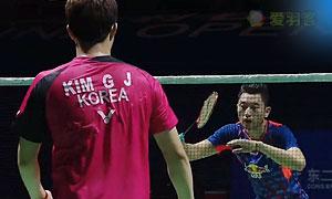 金基正/金沙朗VS柴飚/洪炜 2015中国公开赛 男双决赛视频
