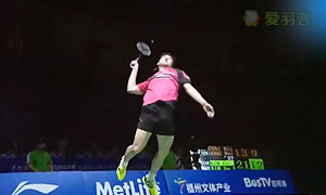 2015中国羽毛球公开赛男双决赛精彩瞬间