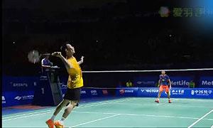 2015中国羽毛球公开赛半决赛精彩瞬间