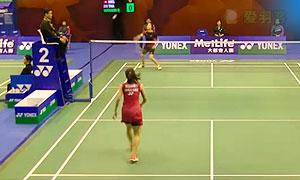 因达农VS张樱美 2015香港公开赛 女单1/16决赛视频