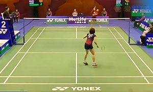 菲比VS桥本由衣 2015香港公开赛 女单1/16决赛视频