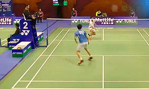 周天成VS黄永棋 2015香港公开赛 男单1/16决赛视频