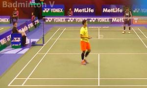 王睁茗VS约根森 2015香港公开赛 男单1/16决赛视频