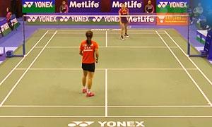 佐藤冴香VS荣博 2015香港公开赛 女单1/16决赛视频