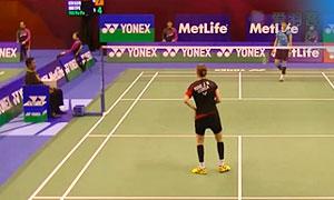 成池铉VS白驭珀 2015香港公开赛 女单1/16决赛视频