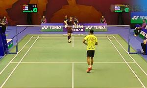 伍家朗VS林丹 2015香港公开赛 男单1/8决赛明仕亚洲官网