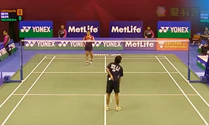 奥原希望VS陈晓欢 2015香港公开赛 女单1/8决赛视频