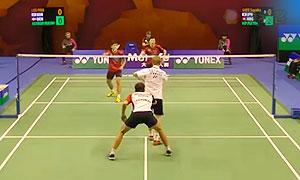 李龙大/柳延星VS索伦森/安德斯 2015香港公开赛 男双1/8决赛视频