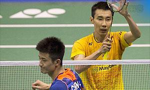 李宗伟VS谌龙 2015香港公开赛 男单1/4决赛视频