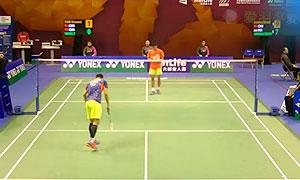 田厚威VS王睁茗 2015香港公开赛 男单1/4决赛视频