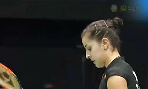 馬琳VS蓬迪 2015香港公開賽 女單1/4決賽視頻