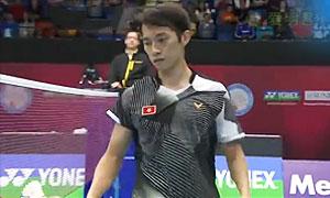 伍家朗VS周天成 2015香港公开赛 男单1/4决赛明仕亚洲官网