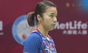 田卿/趙蕓蕾VS佩蒂森/尤爾 2015香港公開賽 女雙1/4決賽視頻