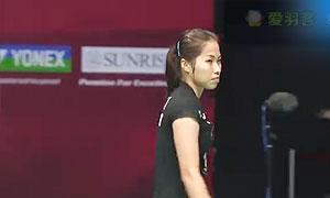 因达农VS佐藤冴香 2015香港公开赛 女单1/4决赛视频