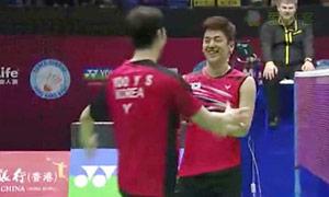 【超精彩!】男双半决赛李龙大/柳延星VS柴彪/洪炜全场集锦