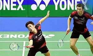 李龙大/柳延星VS鲍伊/摩根森 2015香港公开赛 男双决赛视频