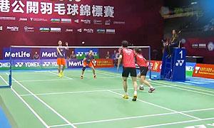 【精彩瞬间】2015香港赛混双半决赛