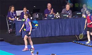 吉尔莫VS马德森 2015苏格兰公开赛 女单半决赛视频