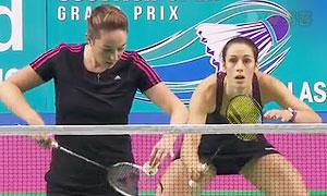 巴宁/塔博林VS比尔切/沃尔沃克 2015苏格兰公开赛 女双半决赛视频