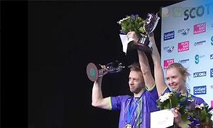 杜尔金/维斯洛娃VS拉巴尔/拉菲尔 2015苏格兰公开赛 混双决赛视频
