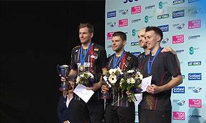 福克斯/舍特勒VS埃利斯/米尔斯 2015苏格兰公开赛 男双决赛视频