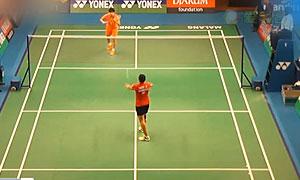 法内特里VS陈晓欣 2015印尼大师赛 女单1/8决赛视频