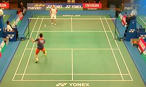 叶炳宏VS迈纳基 2015印尼大师赛 男单资格赛视频