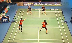 尼蒂娅/波莉VS安迪妮/玛撒 2015印尼大师赛 女双半决赛视频