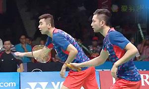 安格里亚万/萨普特拉VS柴飚/洪炜 2015印尼大师赛 男双决赛视频