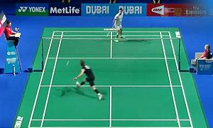 约根森VS胡赟 2015世界羽联总决赛 男单小组赛视频