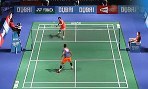 谌龙VS田厚威 2015世界羽联总决赛 男单小组赛视频