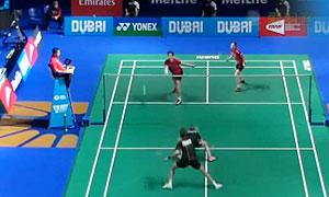 高成炫/金荷娜VS尼尔森/佩蒂森 2015世界羽联总决赛 混双小组赛视频
