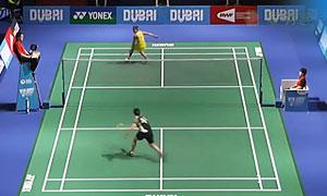 马琳VS戴资颖 2015世界羽联总决赛 女单小组赛视频