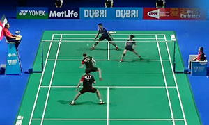 高成炫/金荷娜VS乔丹/苏珊托 2015世界羽联总决赛 混双小组赛视频