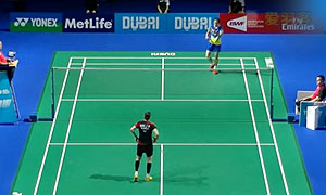 成池铉VS王仪涵 2015世界羽联总决赛 女单小组赛视频