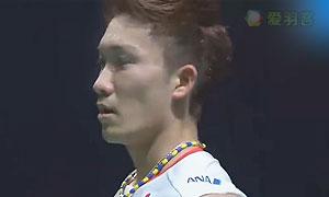 桃田贤斗VS约根森 2015世界羽联总决赛 男单半决赛视频
