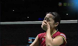 奥原希望VS王仪涵 2015世界羽联总决赛 女单决赛视频