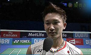 桃田贤斗VS安赛龙 2015世界羽联总决赛 男单决赛视频