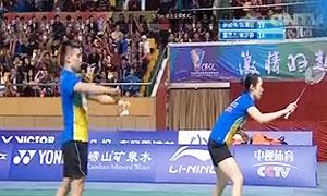 廖骏伟/陈清晨VS章思杰/熊梦静 2016中国羽超联赛 混双第4轮视频