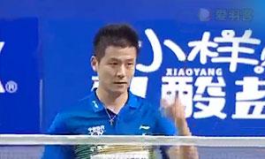 蔡赟/徐晨VS张志君/王泽康 2016中国羽超联赛 男双第4轮视频
