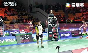 维汀哈斯VS李东根 2015丹麦公开赛 男单1/16决赛 低视角视频