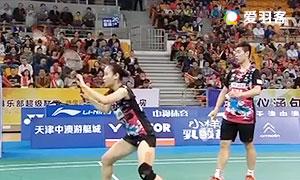刘成/包宜鑫VS张稳/黄东萍 2016中国羽超联赛 混双小组赛 第5轮视频