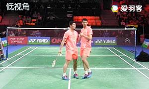 刘成/鲁恺VS阿山/塞蒂亚万 2015丹麦公开赛 男双1/8决赛 低视角视频
