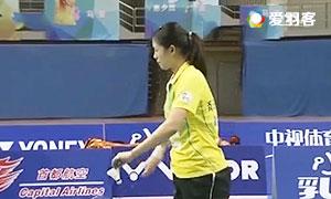 骆赢/骆羽VS成淑/熊梦静 2016中国羽超联赛 女双小组赛第八轮视频
